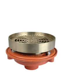 ROUND ADJUSTABLE RECESSED STRAINER