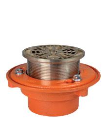 "FLOOR DRAIN - TYPE ""A"" ROUND ADJUSTABLE STRAINER"
