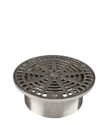 ROUND ADJUSTABLE STRAINER - STAINLESS STEEL