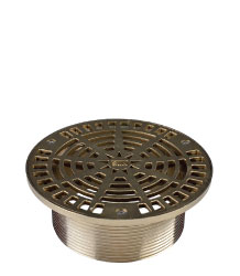 ROUND ADJUSTABLE STRAINER - NICKEL BRONZE